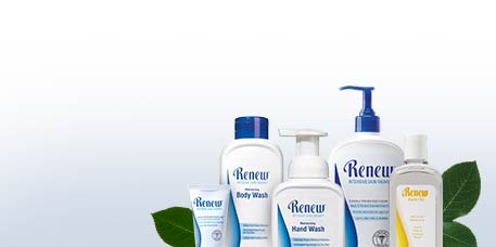 Say Goodbye to Dry Skin with Renew Intensive Skin Therapy System.