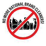 No national brand cleaners