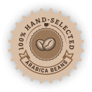 100% Hand Selected Arabica Beans