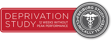 Deprivation Study: 12 weeks without peak performance