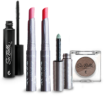 Eye shadows, creme eye shadow, lip gloss, and lip plump
