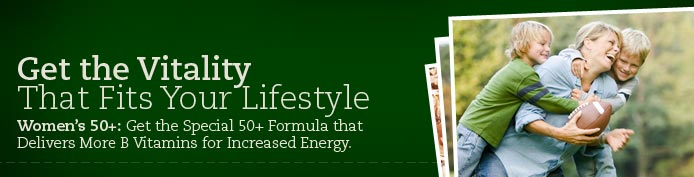 Get the vitality that fits your lifestyle